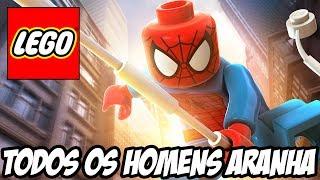 getlinkyoutube.com-Lego Marvel Super Heroes - Todos os Homens Aranha