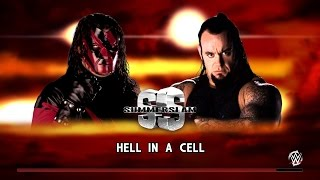 getlinkyoutube.com-WWE 2K16 - The Undertaker Vs Masked Kane - Hell In a Cell Match - Summerslam 1998