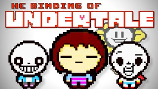getlinkyoutube.com-UNDERTALE MOD ! - The Binding of Isaac Rebirth Afterbirth DLC