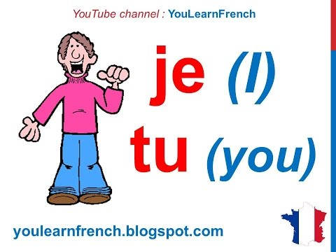 French Lesson 12 - Les pronoms personnels sujet (Subject pronouns)