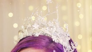 getlinkyoutube.com-Ice Crown ♥ DIY