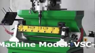 getlinkyoutube.com-Manek - Valve Seat Cutting Machine Model: VSC-6M