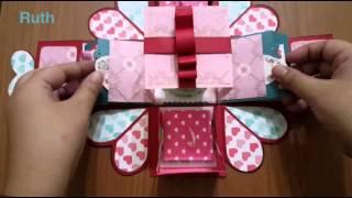 getlinkyoutube.com-Ruth 愛分享-浪漫主義禮物盒(爆炸卡)