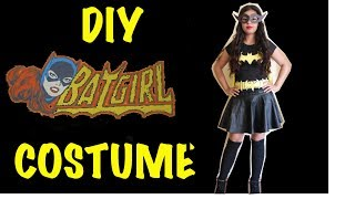 getlinkyoutube.com-Last Minute DIY Halloween Batgirl Costume