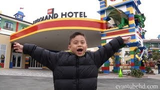 getlinkyoutube.com-LEGOLAND HOTEL Grand Opening! California: Complete Tour by EvanTubeHD