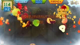 getlinkyoutube.com-Fruit Ninja arcade 1125 score; READ for tips on 1000 point scores, understanding blitzes & bongos