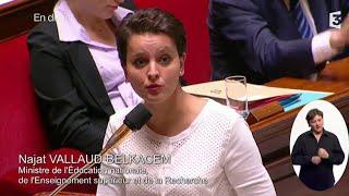 getlinkyoutube.com-الوزيرة الريفية الفرنسية نجاة  بلقاسم والتعليم Najat Vallaud-Belkacem