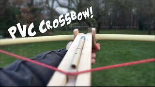 getlinkyoutube.com-how to make a PVC crossbow