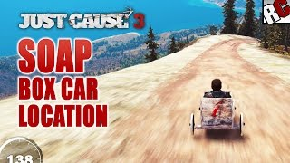 getlinkyoutube.com-Just Cause 3 - Secret Soap Box Car Location - Endless Runner (No story progression required)