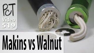 getlinkyoutube.com-Polymer Clay Extruders: Makins vs. Walnut Hollow Review