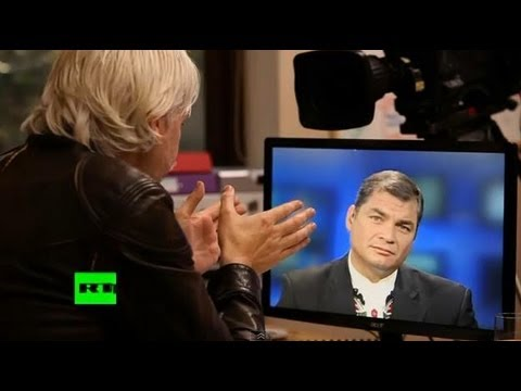 Julian Assange's The World Tomorrow: Rafael Correa (E6)