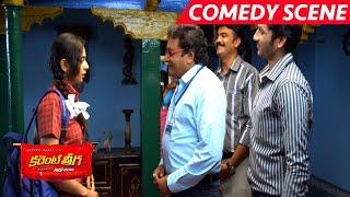 getlinkyoutube.com-Rakul Preet Singh Punch To Prithvi Raj - Hilarious Comedy - Current Theega Movie Scenes