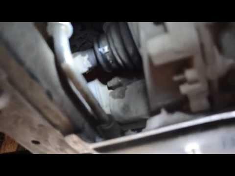 Течь сальника привода Рено Логан/Renault Logan