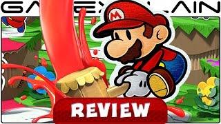 getlinkyoutube.com-Paper Mario: Color Splash - REVIEW (Wii U)