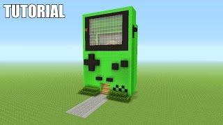 getlinkyoutube.com-Minecraft Tutorial: How To Make A Nintendo GAMEBOY Color!! (Survival House)