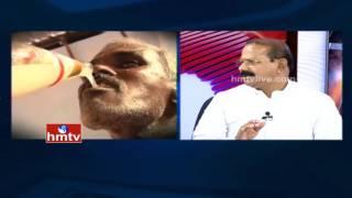 getlinkyoutube.com-Debate On Adulterated Toddy Deaths Rise in Telangana | Left and Right | HMTV | Debate-1
