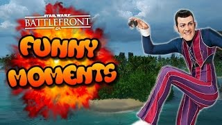 Star Wars Battlefront FUNTAGE (Funny Moments Montage) #25 - WE ARE NUMBER ONE!