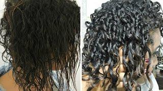 getlinkyoutube.com-Finalização perfeita para cabelos em Transição /Cacheados ou Crespos