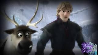 """getlinkyoutube.com-Frozen """"El vestuario de Elsa"""" la curiosidad más rara 1/2"""