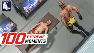 WWE 2K18 Top 100 Extreme Moments