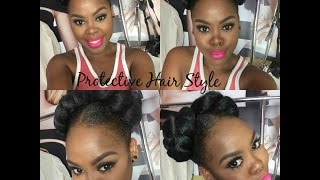 getlinkyoutube.com-Protective Styles For Natural Hair Black Women