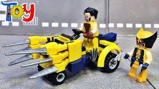 getlinkyoutube.com-Elephant 울버린 자동차 탈것 거상 레고 짝퉁 조립 리뷰 Lego knockoff Wolverine Car