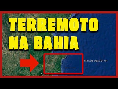 Terremoto de 4,6 de magnitude é registrado na Bahia, assustando moradores!