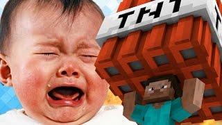 getlinkyoutube.com-弟が幼稚園児を号泣させてたらヤンキー乱入w マイクラ荒らし#60