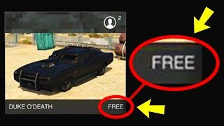 HOW TO GET THE DUKE O'DEATH FOR FREE IN GTA 5 ONLINE!