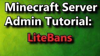 getlinkyoutube.com-Minecraft Server Admin How-To: LiteBans [Premium]