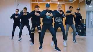 getlinkyoutube.com-Monsta X 'HERO' mirrored Dance Practice