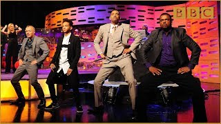 getlinkyoutube.com-Will & Jaden Smith, DJ Jazzy Jeff and Alfonso Ribeiro Rap! - The Graham Norton Show - BBC One