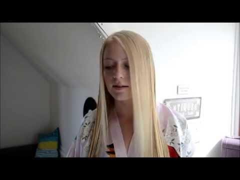 Sådan får man glat hår uden at bruge varme | Amalie FS
