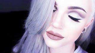 getlinkyoutube.com-Industrial-toned Full Face Glam Makeup Tutorial