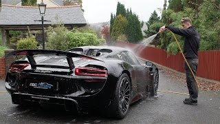 getlinkyoutube.com-ABC Detailing - Porsche 918 Spyder - Correction Detail