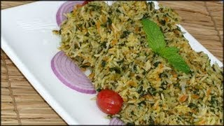Spinach & Carrots Pulao ..