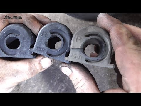 Замена резинок стабилизатора Honda CR-V