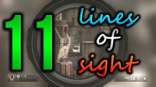 getlinkyoutube.com-MWR - 11 Lines Of Sight! Super Overpowered Spots/Glitches!