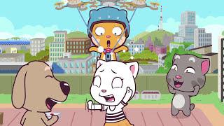getlinkyoutube.com-Talking Tom and Friends Minis - Episodes 21-24 Binge Compilation
