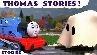 getlinkyoutube.com-Thomas and Friends Funny Pranks with Play Doh Stop Motion Toy Trains & Tom Moss TT4U