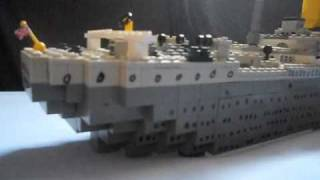getlinkyoutube.com-The Lego Titanic sinking movie (MUSIC)