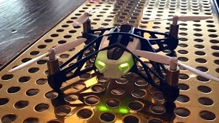 getlinkyoutube.com-Parrot Rolling Spider Mini Drone Review + Easy Battery Fix