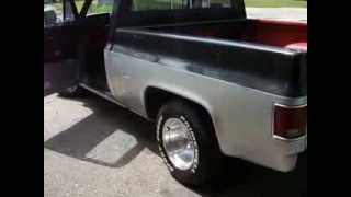 1987 Chevy Truck 454, Hot Rod Style