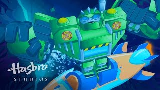 "getlinkyoutube.com-Transformers: Rescue Bots - Meet the Bots ""High Tide"""