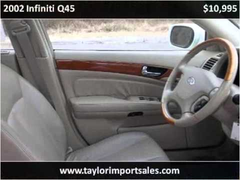 2002 Infiniti Q45 Used Cars Nashville TN