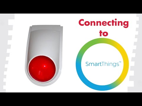 How To Connect To SmartThings: FortrezZ Outdoor Siren (SSA3)