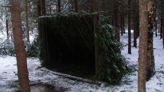 getlinkyoutube.com-Long Term Survival Shelter.