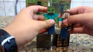 getlinkyoutube.com-Minecraft! Brinquedos? Toda a Série 1! (PT-BR)