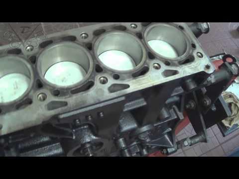 Oficina Mecânica - Gol G4 1.0 8v. EA111 2008 - Montagem do Motor