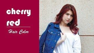 cherry red - Hair Color(Hoyu Professional)